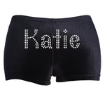 Personalised Diamante Gymnastics Dance Shorts - varsanystore