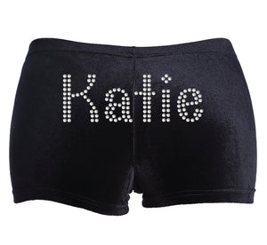 Personalised Girls Gymnastic Shorts - varsanystore