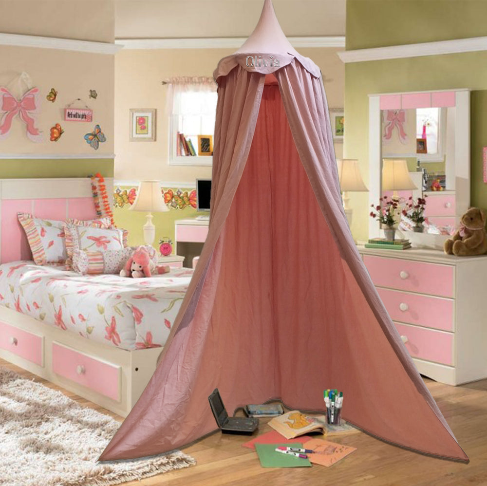 Personalised Girls Pink Bed Canopy Bedding - varsanystore