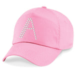 Pink Girls Personalised Cap - varsanystore