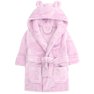 Personalised Baby Girls and Boys Hooded Bath Robe - varsanystore