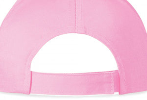 Personalised Girls Pink Cap in Diamante - varsanystore