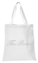 Crystals The Bride Wedding Tote Bag - varsanystore