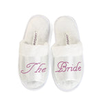 The Bride Party Spa Open Toe Slippers - varsanystore