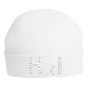 Personalised Baby Girls Super Soft Hat - varsanystore