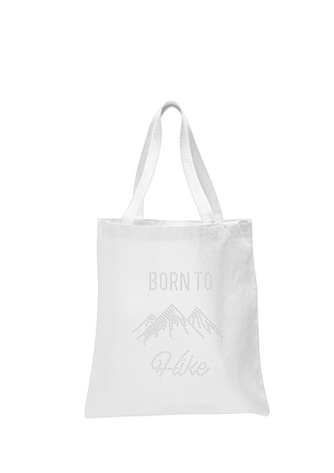Born to Hike Tote Bag - varsanystore