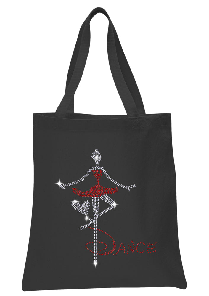 Dance Girl Tote Bag - varsanystore