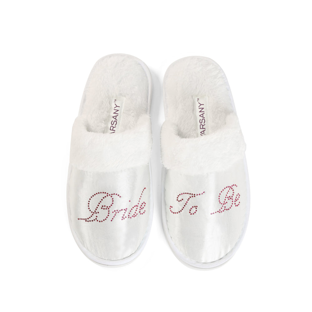 Bride To Be Spa Slippers - varsanystore