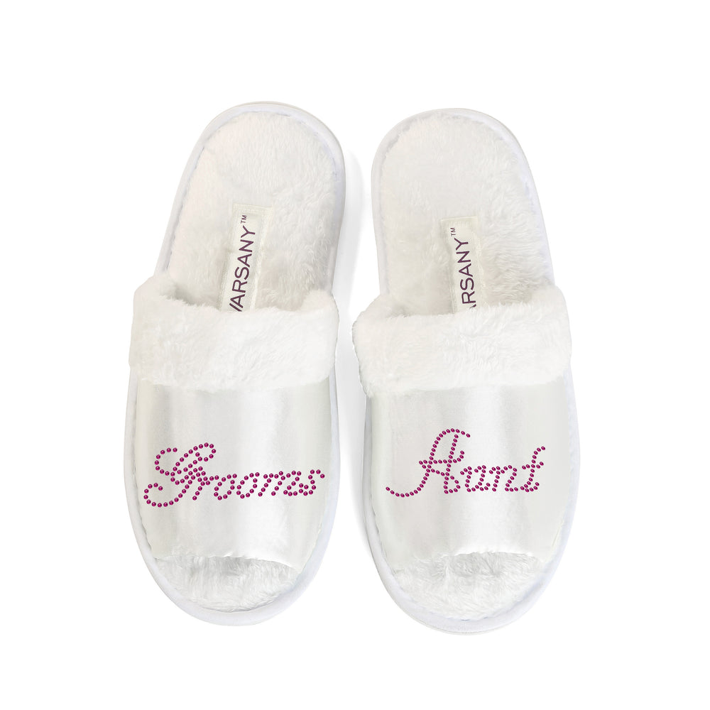 Crystals Grooms Aunty Party Spa OT Slippers - varsanystore