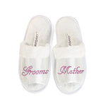 CrystalsRus New Grooms Mother Party Slippers Bride Bridesmaid Spa Hen Weekends Wedding Gift By Varsany (OT) - varsanystore
