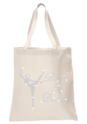 Born To Dance Tote Bag - varsanystore