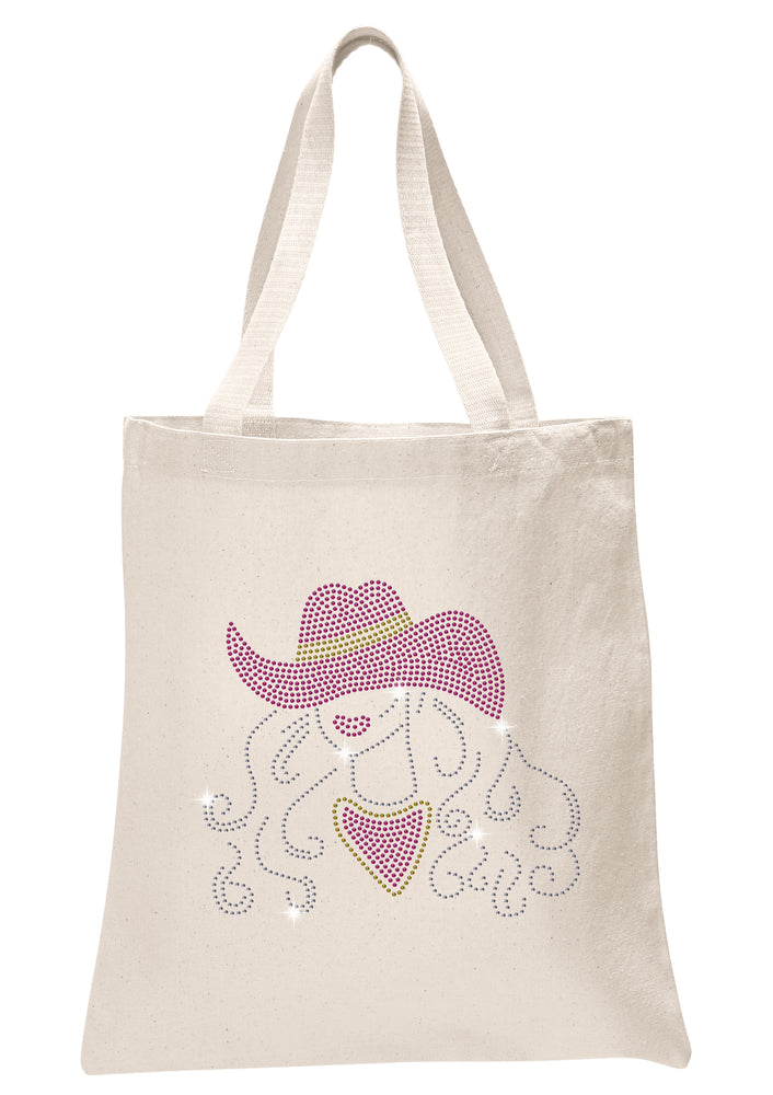 Cow Girl Tote Bag - varsanystore
