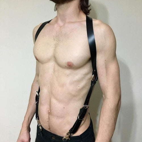 Leather Shoulder Body Harness