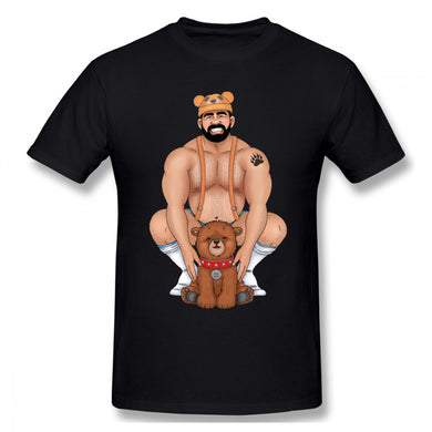 Black Daddy Bear T-Shirt