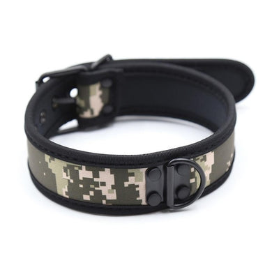 Camo Rubber Puppy Collar