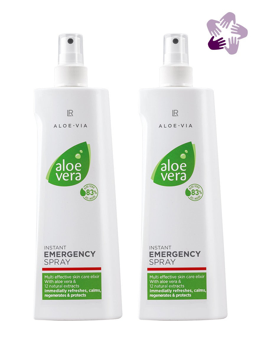 Pack Duo - Spray d'urgence à L' Aloe Vera