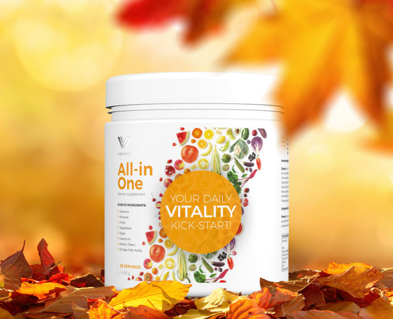Formule All-in-one - BOOSTEUR DE VITALITÉ