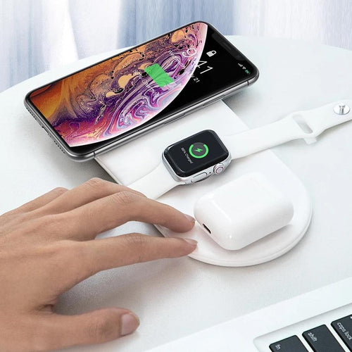Baseus™ Wireless Charger For iPhone, Apple watch & Airpods