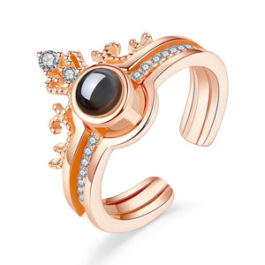"""I love you"" Projection Ring"