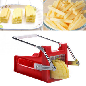 French Fry Cutter Kitchen Gadgets 2 Blades Potato Cutter | Kitchen Gadgets
