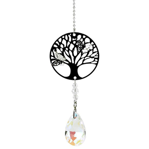 Tree of Life Rainbow Crystal Drop