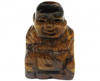 Tiger Eye Buddha Carving