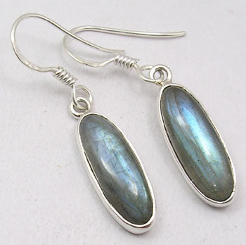 Labradorite Sterling Silver Earrings