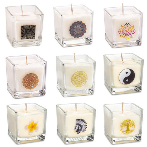 Rapeseed Wax Scented Eco Candles