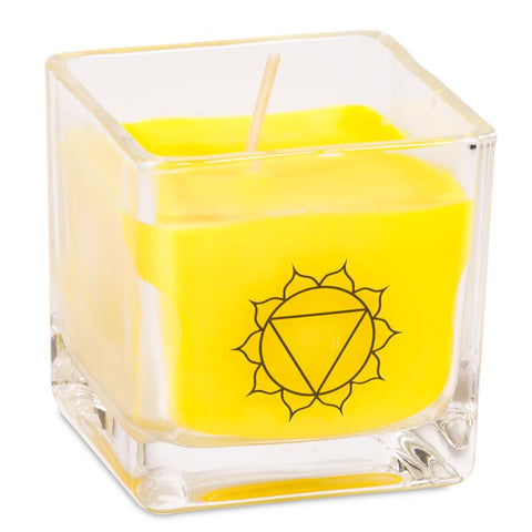 Rapeseed Wax Scented Candle 3rd Chakra