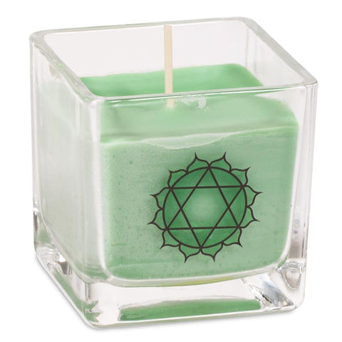 Rapeseed Wax Scented Candle 4th Chakra