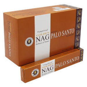 Golden Nag Palo Santo Incense Sticks 15 grams