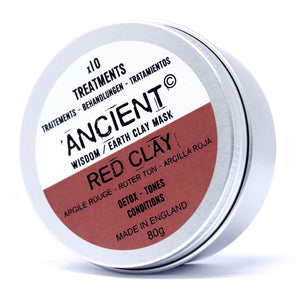 Red Clay Face Mask 80g