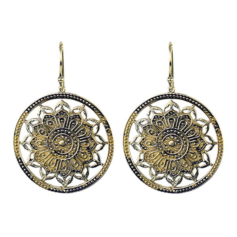Lotus Mandela Earrings