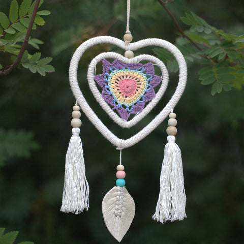 Dreamcatcher - Medium Multi Heart in Heart