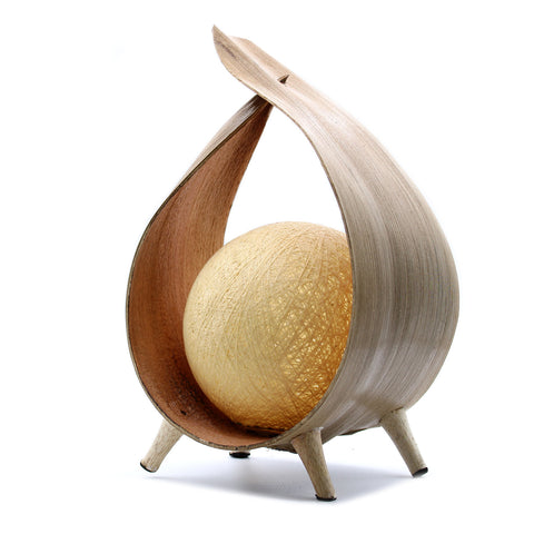 Natural Coconut Lamp - Natural Loop