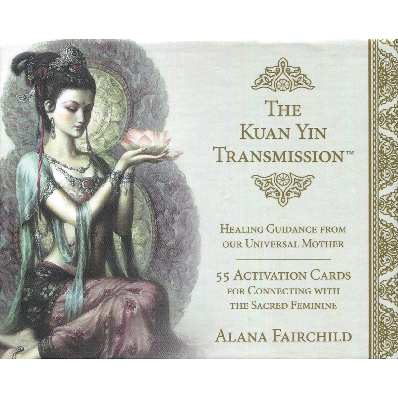The Kuan Yin Transmission Activation Cards by Alana Fairchild