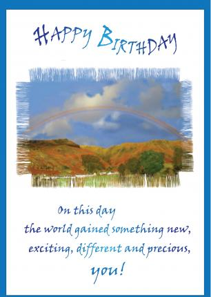 'On This Day...' Birthday Card