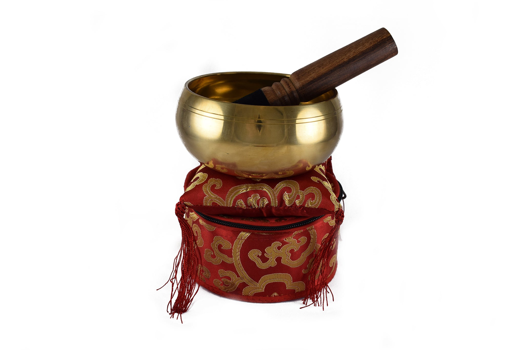 Singing Bowl Gift Set (Red)