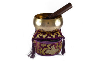 Singing Bowl Gift Set (Purple)