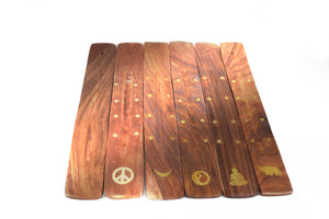 Mango Wood Incense Ash Catchers