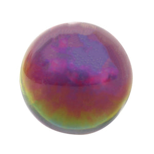 4CM Small Plain Rainbow Crystal Ball