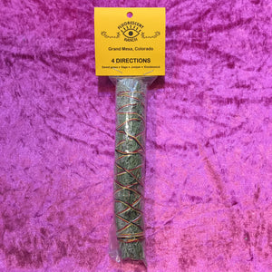 Four Directions Smudge Stick - 7.5 INCH