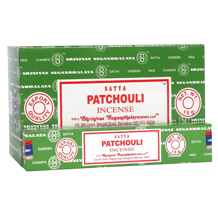 Satya Patchouli Incense Sticks 15 grams