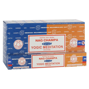 Satya Nag Champa & Yogic Meditation Mixed Box