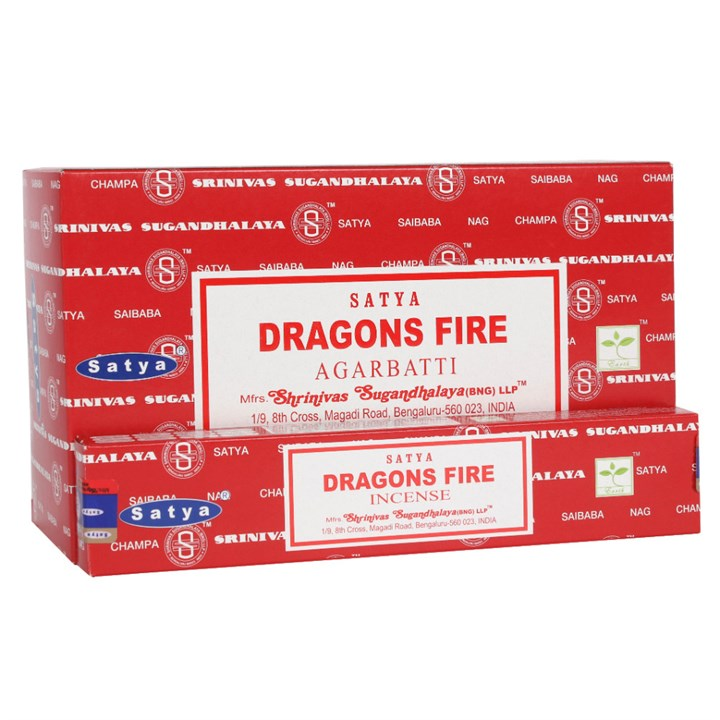 Satya Dragons Fire Incense Sticks 15 grams
