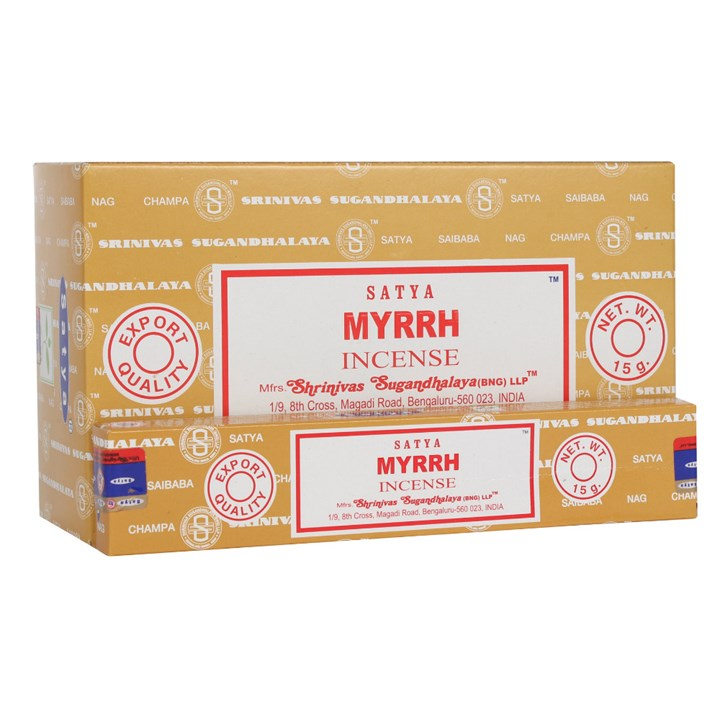 Satya Myrrh Incense Sticks 15 grams