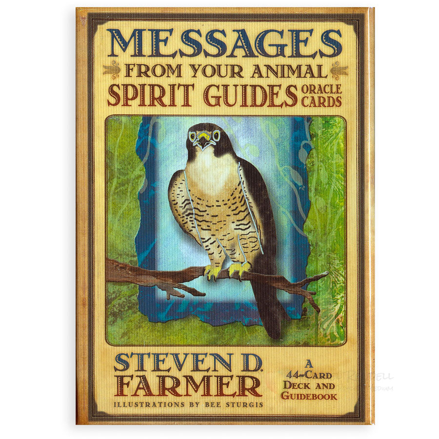 Messages From Your Animal Spirit Guides Oracle Cards by Steven Farmer