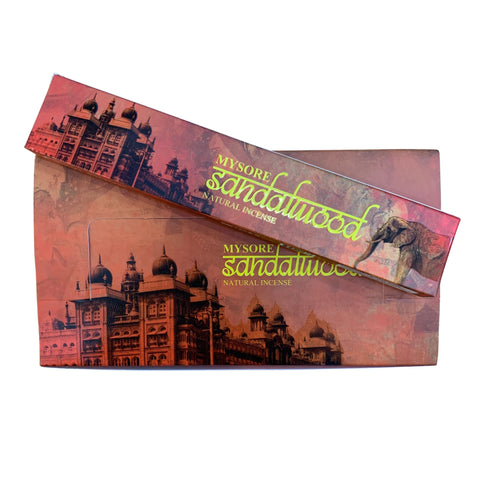 New Moon Mysore Sandalwood Incense Sticks