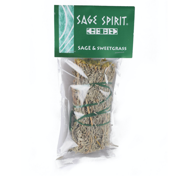 Sage and Sweetgrass Bundle - 5 Inch