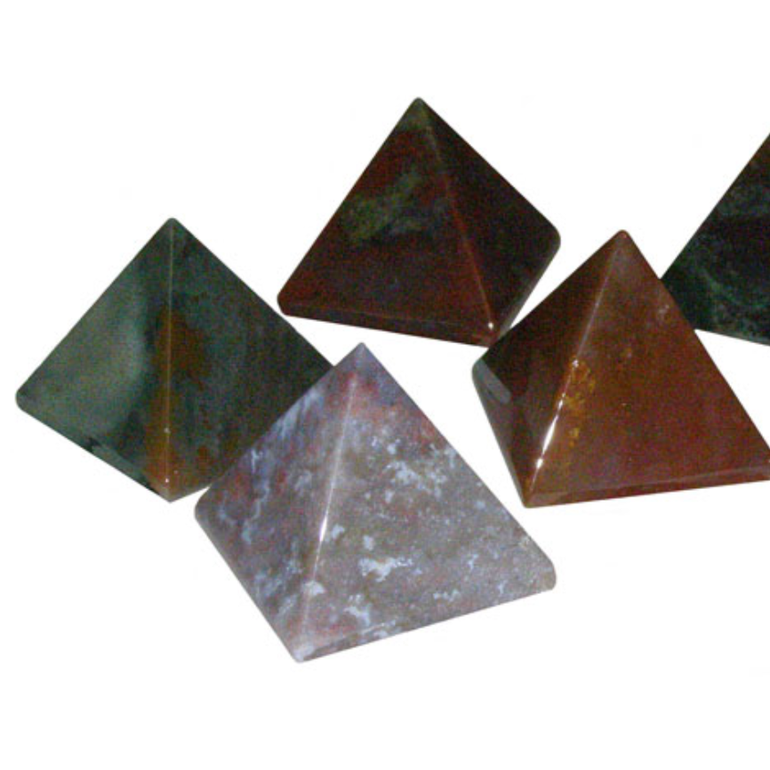 Fancy Jasper Pyramid